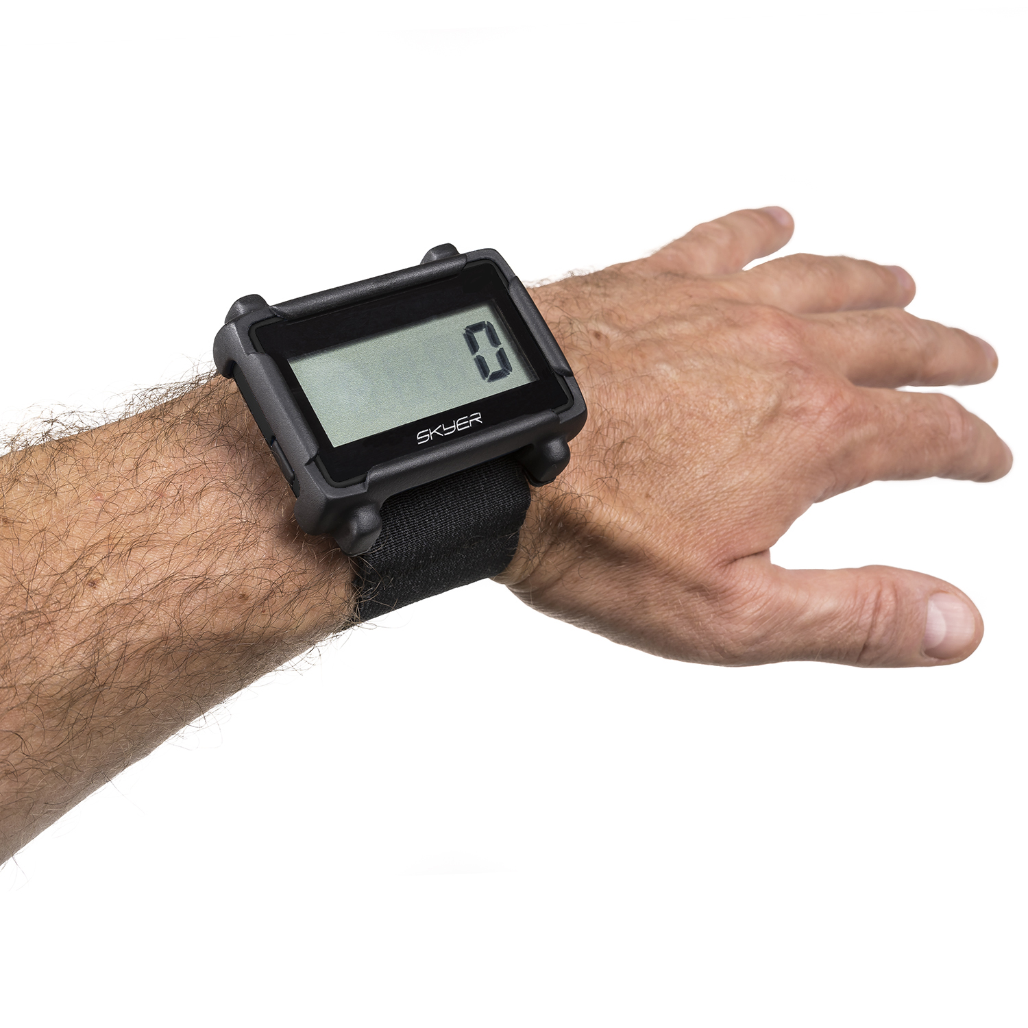 SKYER altimeter and wristband
